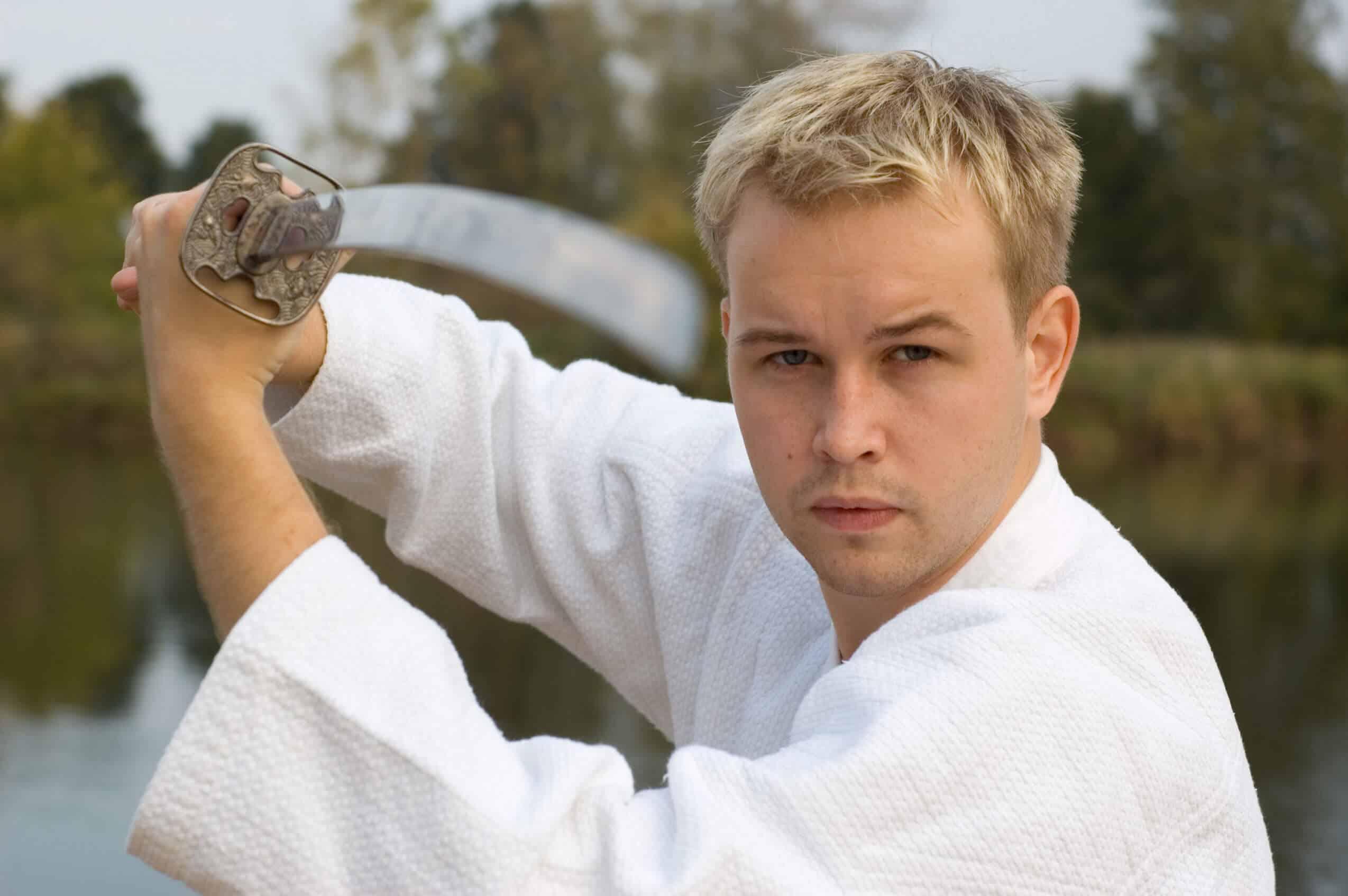 Martial Arts Lessons for Adults in San Antonio TX - Samurai Sword Posing Blog