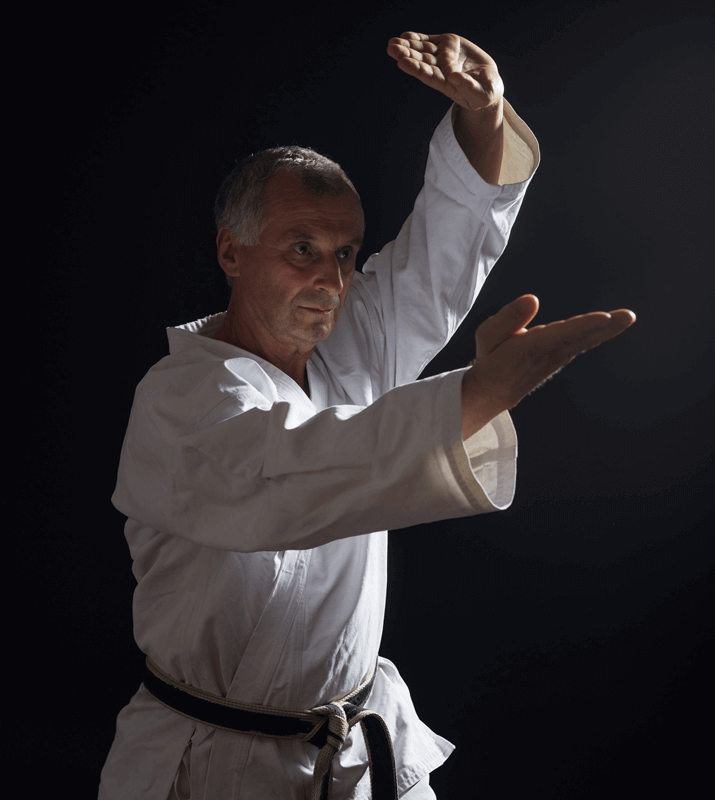 Martial Arts Lessons for Adults in San Antonio TX - Older Man