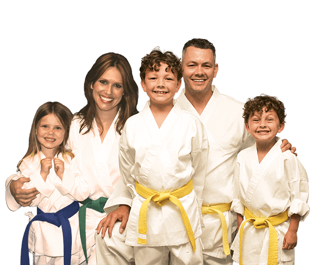 Martial Arts Lessons for Families in San Antonio TX - Group Family for Martial Arts Footer Banner