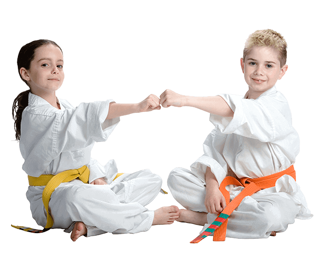 Martial Arts Lessons for Kids in San Antonio TX - Kids Greeting Happy Footer Banner
