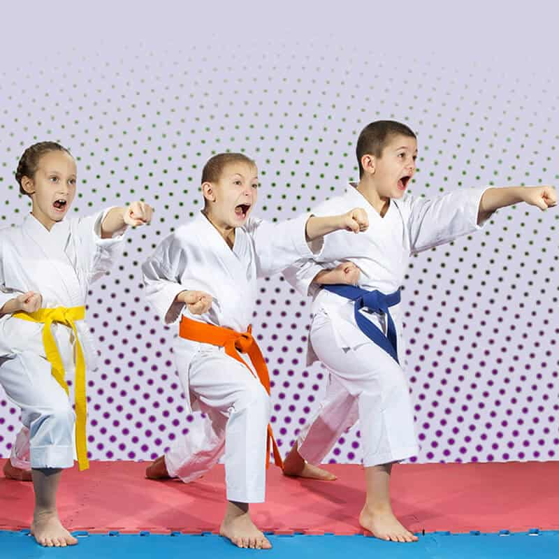 Martial Arts Lessons for Kids in San Antonio TX - Punching Focus Kids Sync