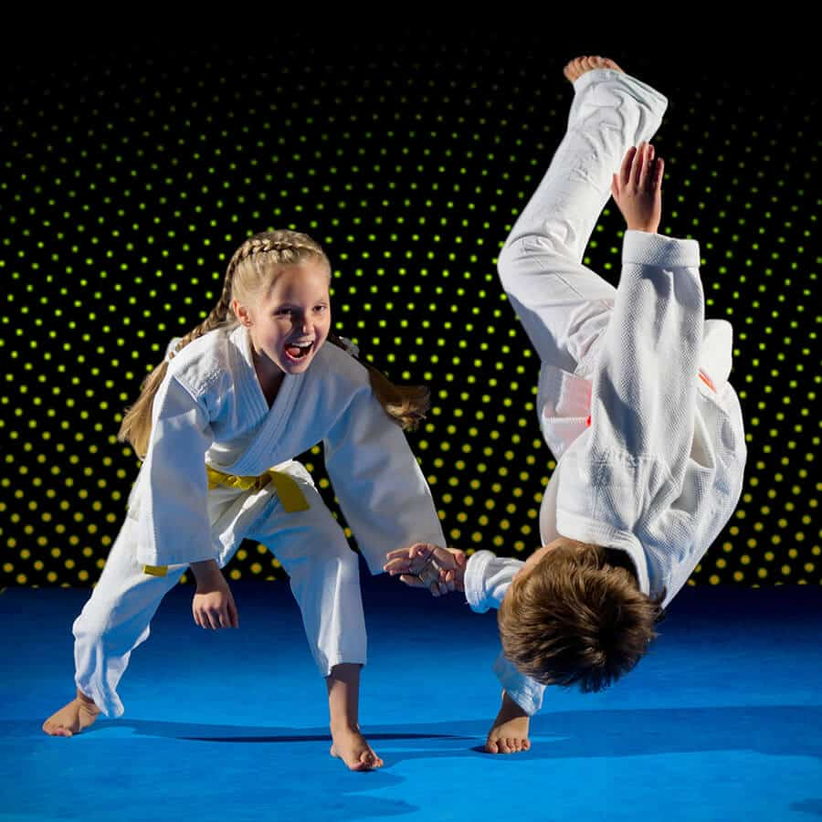 Martial Arts Lessons for Kids in San Antonio TX - Judo Toss Kids Girl