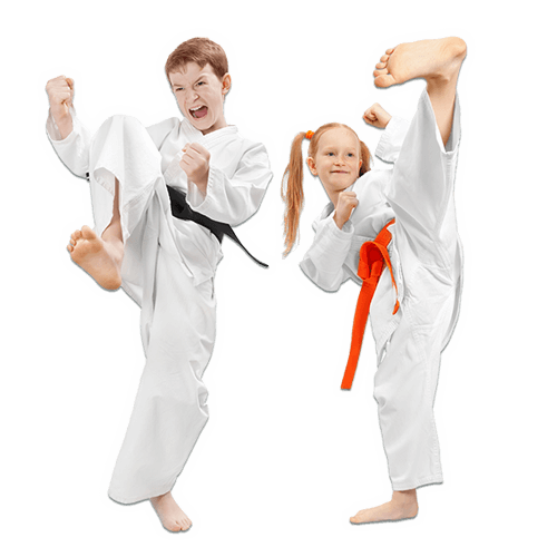 Martial Arts Lessons for Kids in San Antonio TX - Kicks High Kicking Together