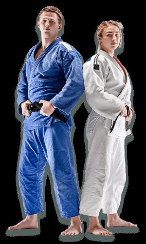 Brazilian Jiu Jitsu Lessons for Adults in San Antonio TX - BJJ Man and Woman Banner Page